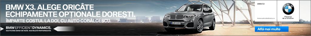 DESCOPERĂ STOCUL BMW AUTO COBĂLCESCU. CEL MAI NOU DEALER BMW.